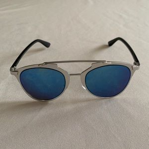 Accessories - FREE IN A BUNDLE! Blue Reflective Sunglasses💙💙